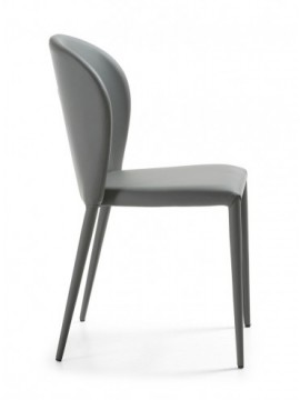 Silla color gris U03