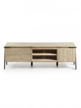 Mueble TV 165x45 1P 2C Mad Acacia Natural