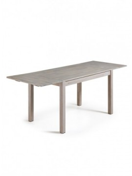 Mesa 120(200)x75 extensible roble blanqueda