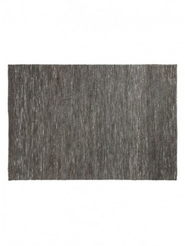 Alfombra 130x190 yute gris oscuro
