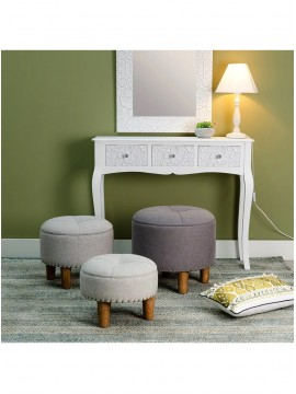 SET 3 POUF ARCON