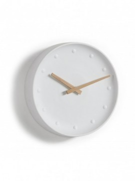 Reloj pared porcelana