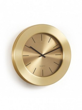 MEYERS Reloj de pared metal dorado